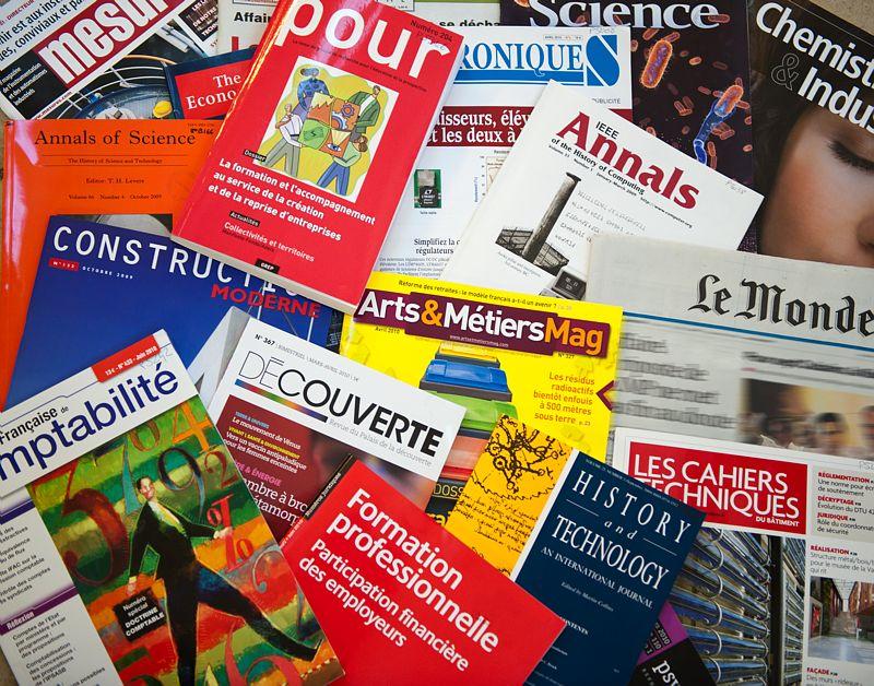 Revue de presse magazine